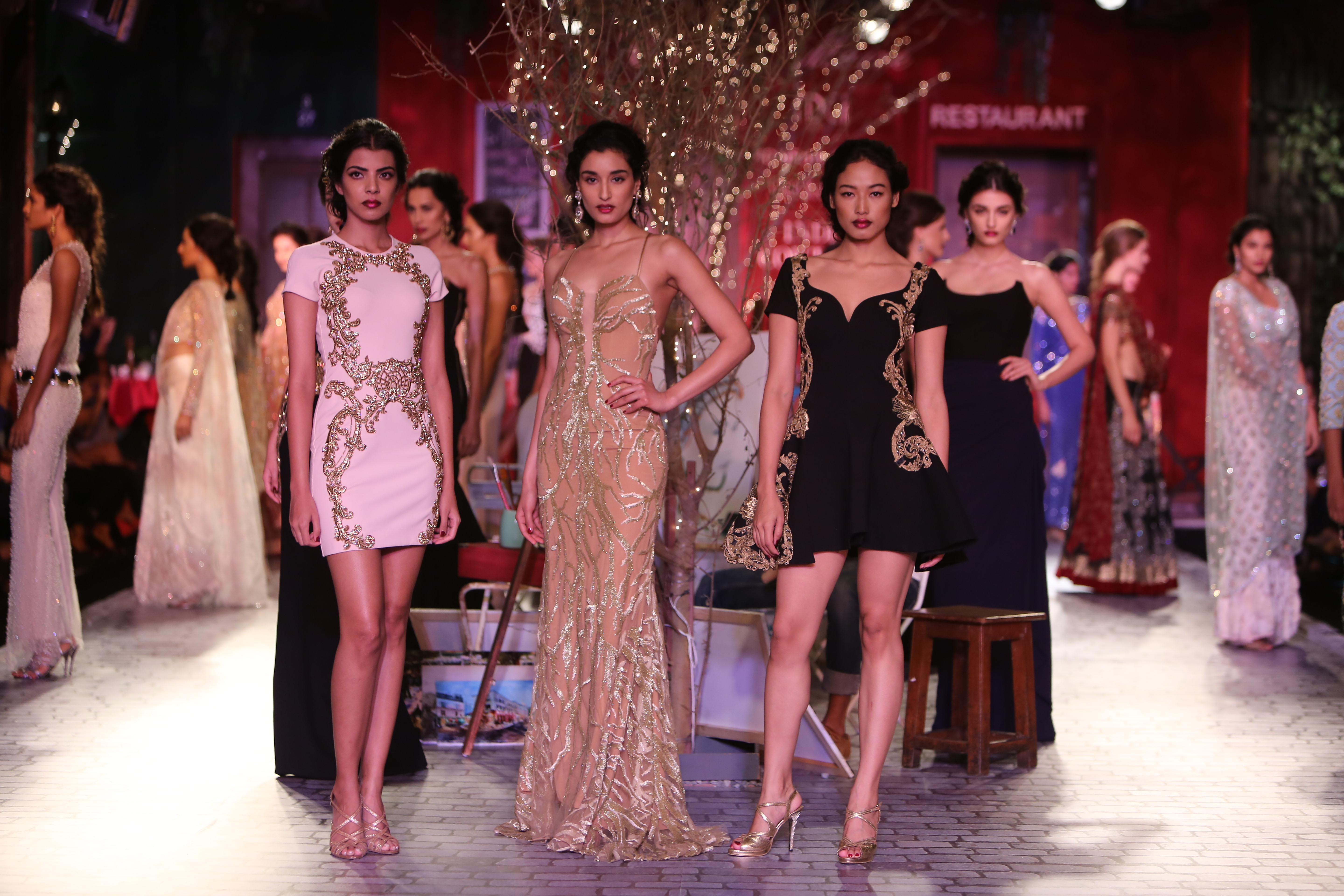 Monisha Jaising for the Delhi Couture Week