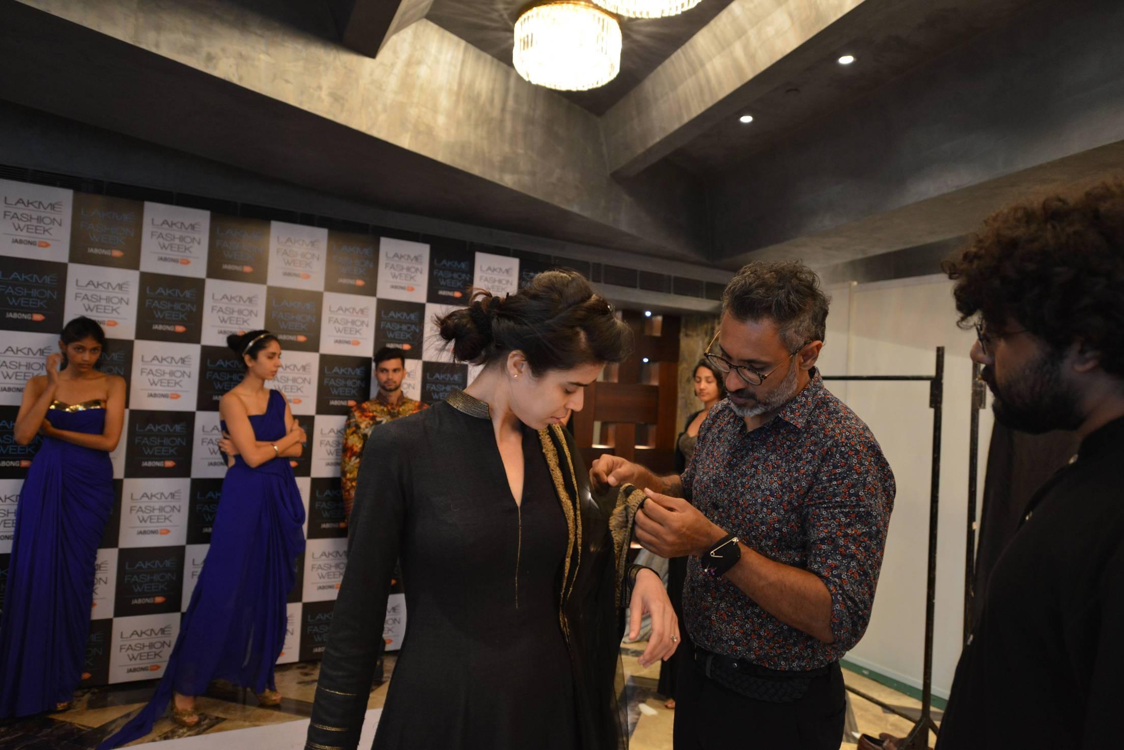Shantanu & Nikhil at fittings