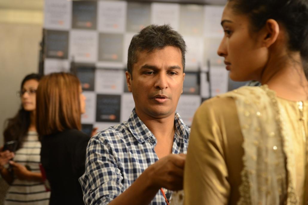 Vikram Phadnis at fittings