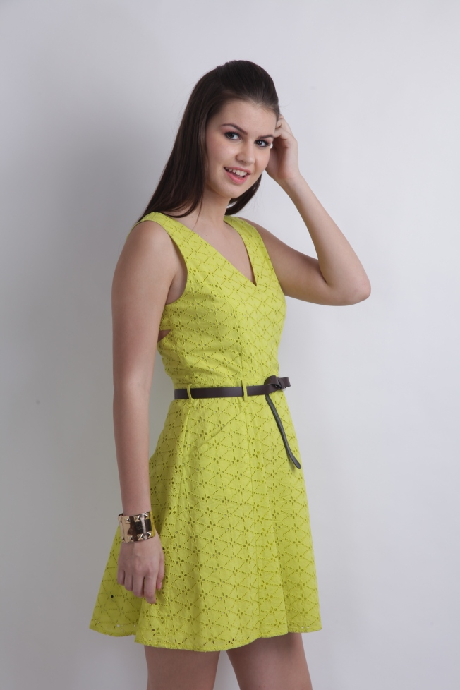 Green Dress by RIDRESS