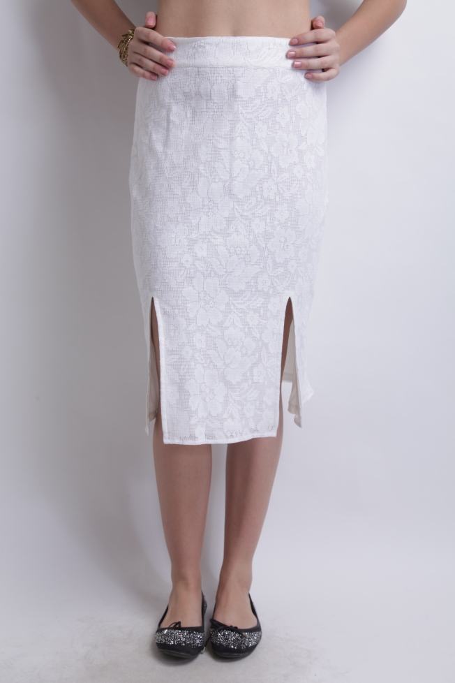 M-slit Skirt By RIDRESS