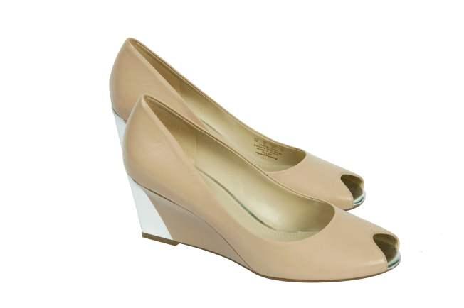 Naturalizer Peep toes wedges- Beige  Rs. 4999