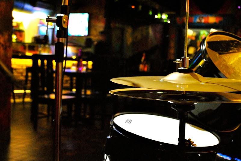 The music corner at Barrels