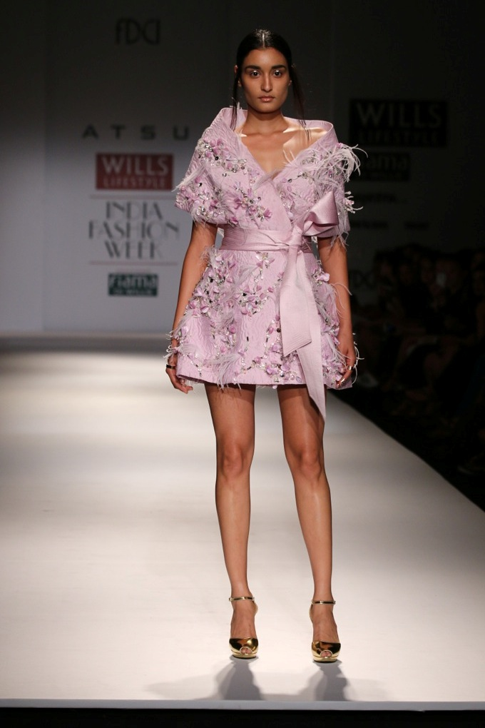 Atsu for Wills India Fashion Week Spring/Summer2015