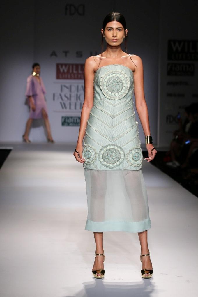 Atsu for Wills India Fashion Week Spring/Summer2015