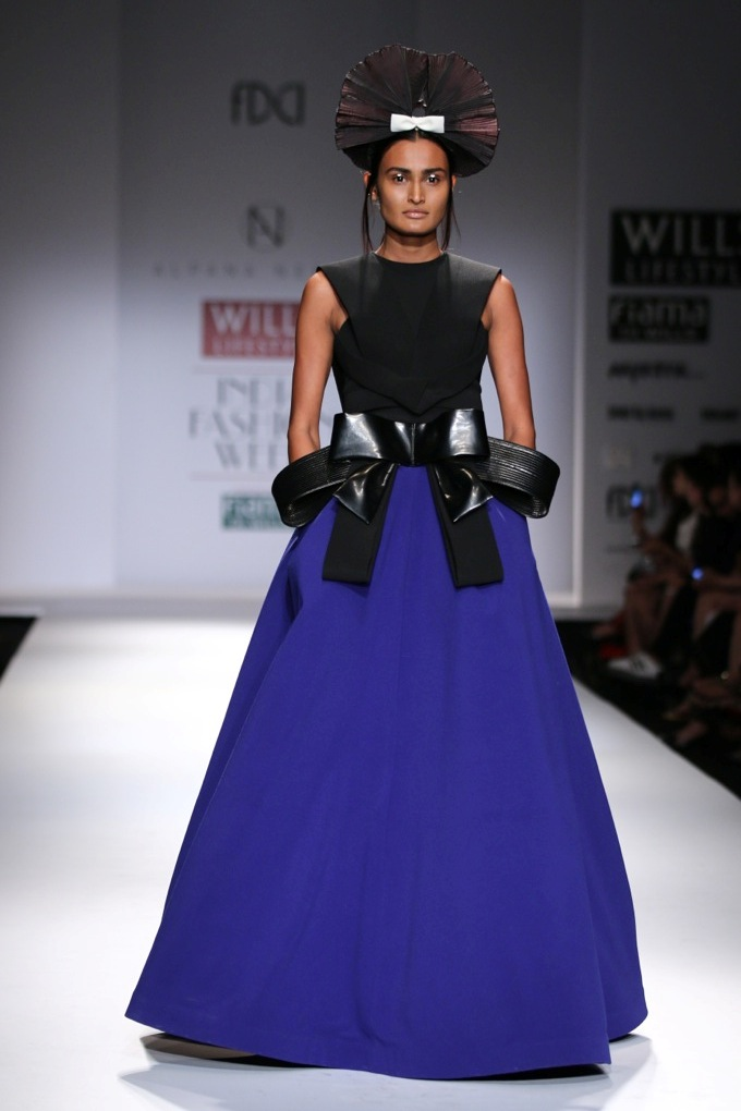 Alpana & Neeraj at the Wills India Fashion Week Spring/Summer 2015
