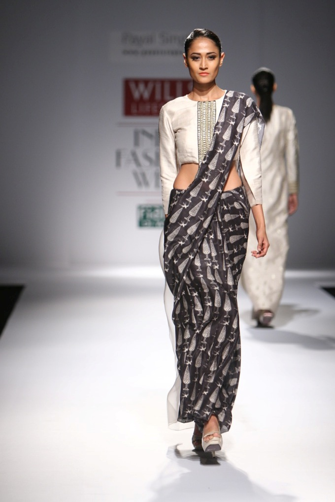 Payal Singhal for Wills India Fashion Week Spring/Summer 2015