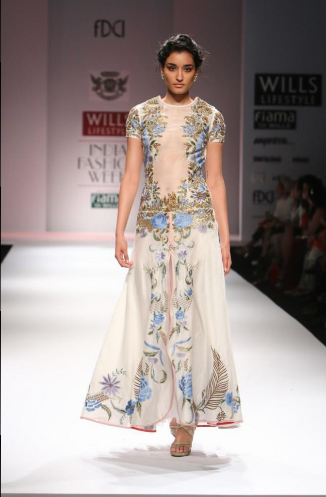 Samant Chauhan for Wills India Fashion Week Spring/Summer 2015