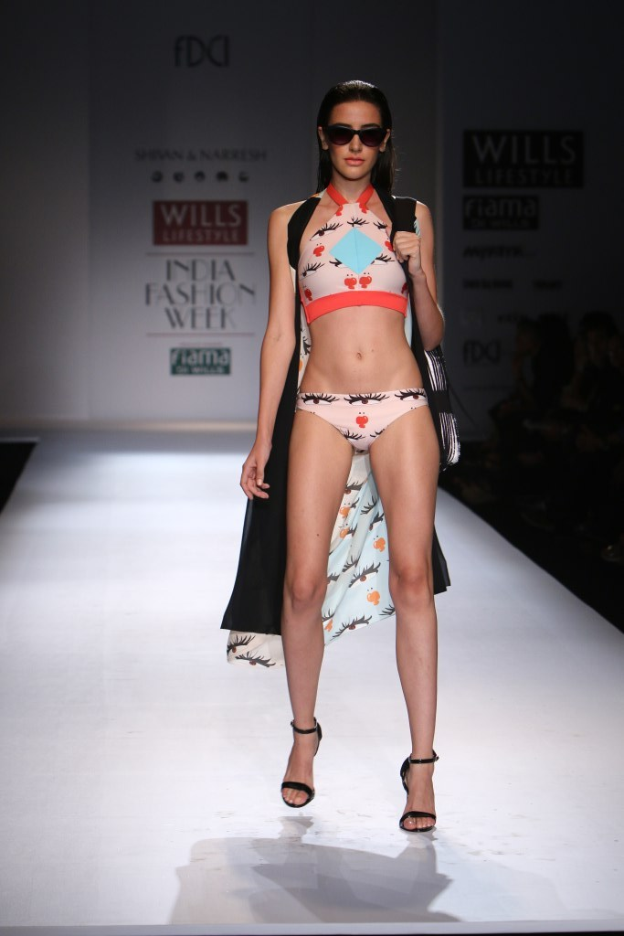 Shivan and Narresh for Wills India Fashion Week Spring/Summer 2015