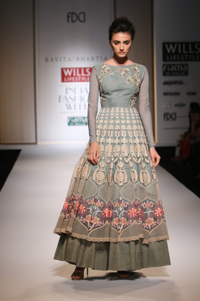 Kavita Bhartia for Wills India Fashion Week Spring/Summer 2015