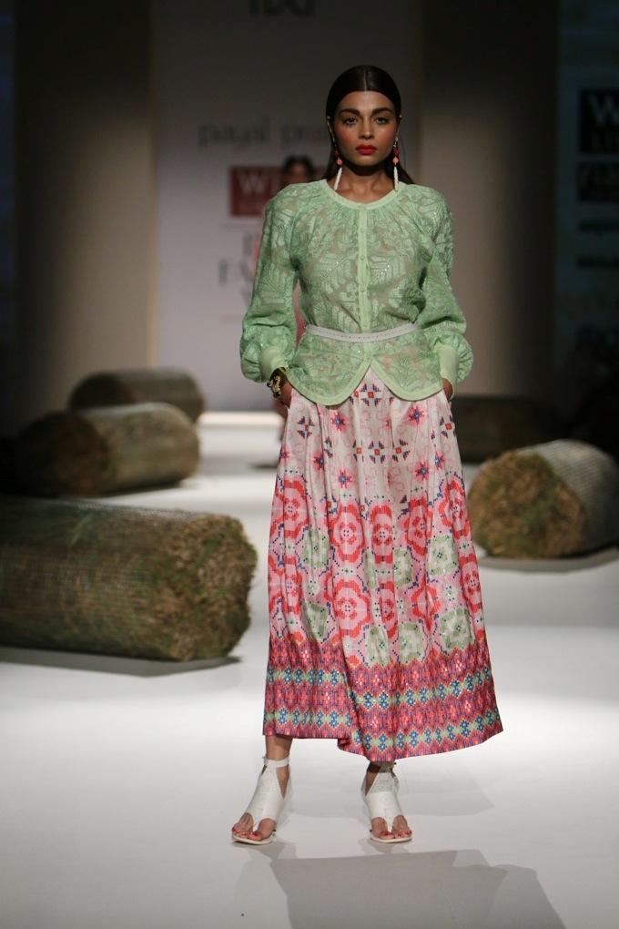 Payal Pratap for Wills India Fashion Week Spring/Summer 2015