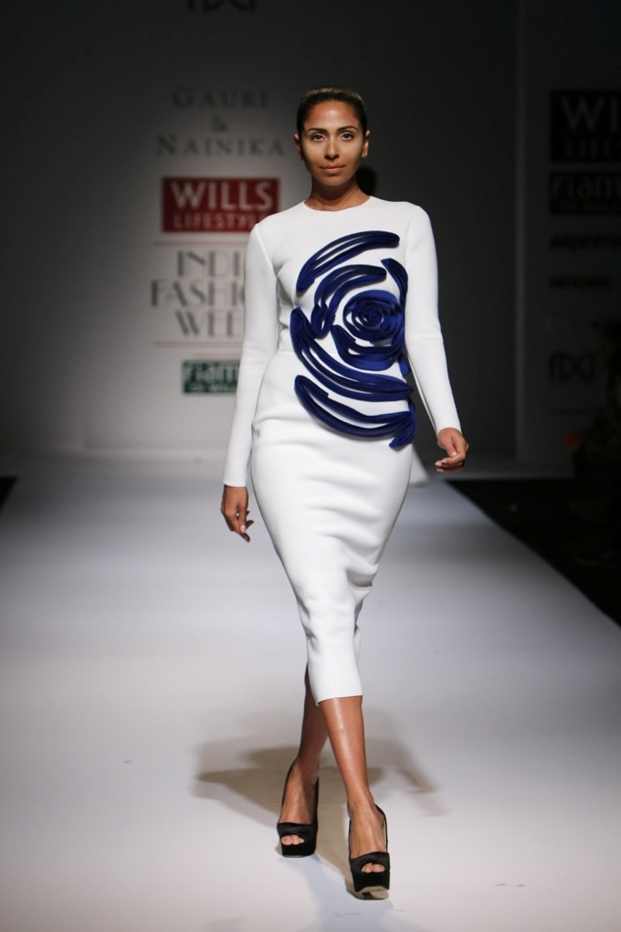 Gauri and Nainika for Wills India Fashion Week Spring/Summer 2015