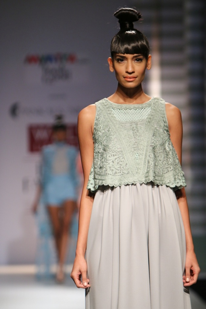 Pankaj and Nidhi for Wills India Fashion Week Spring/Summer 2015
