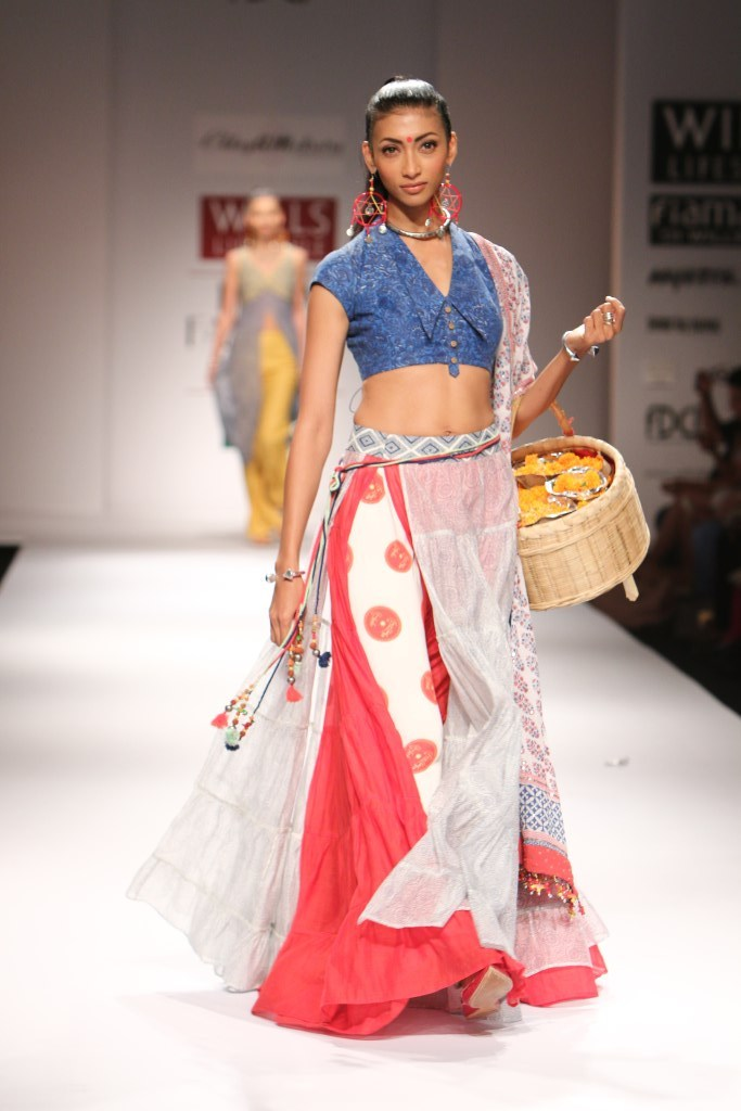 Chhaya Mehrotra Wills India Fashion Week Spring/Summer 2015