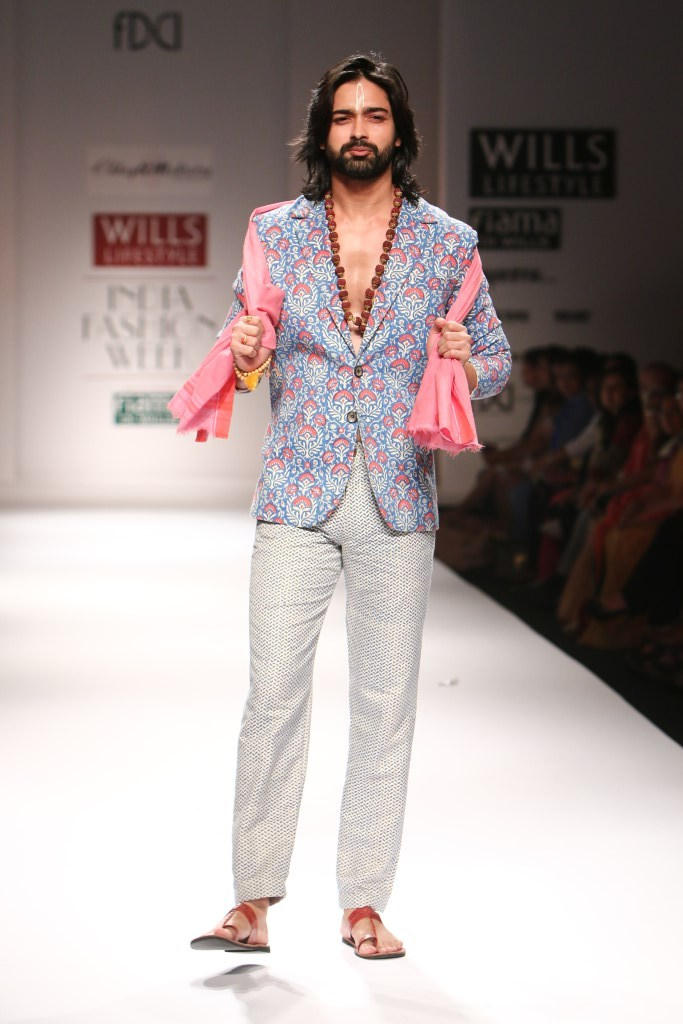 Chhaya Mehrotra for Wills India Fashion Week Spring/Summer 2015