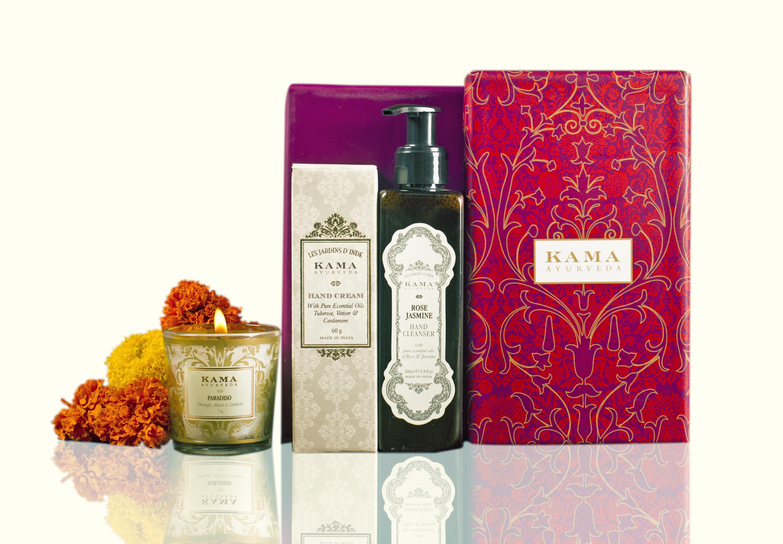 KAMA Ayurveda gift boxes