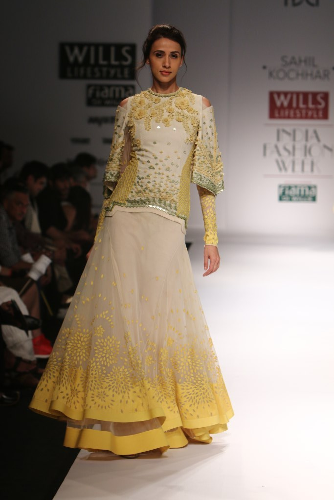 Sahil Kochhar for Wills India Fashion Week Spring/Summer 2015