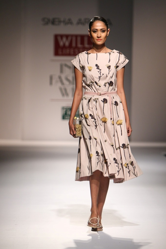 Sneha Arora for Wills India Fashion Week Spring/Summer 2015