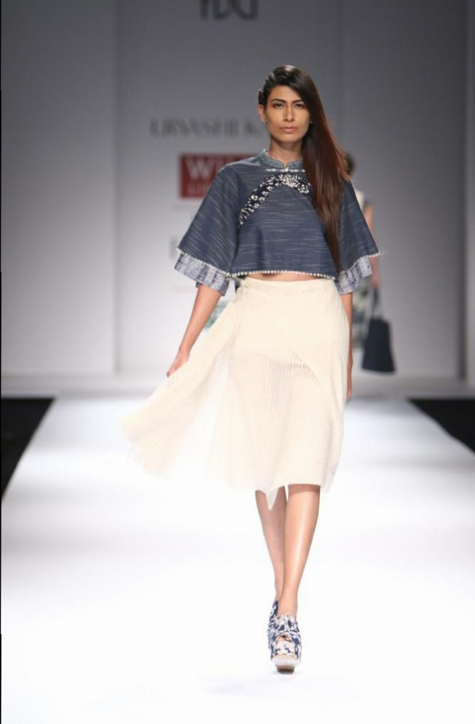 Urvashi Kaur for Wills India Fashion Week Spring/Summer 2015