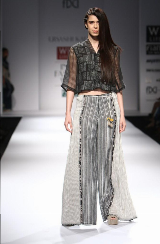 Urvashi Kaur for Wills India Fashion Week Spring/Summer 2015