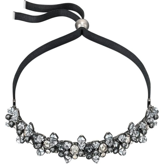 Blacklight Choker by Swarovski