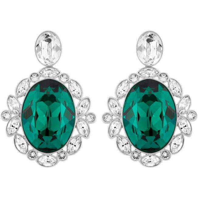 Brazil pierced earrings by Swarovski