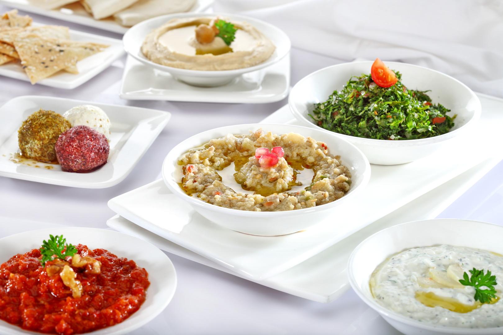 Mezze Platter at Aqaba