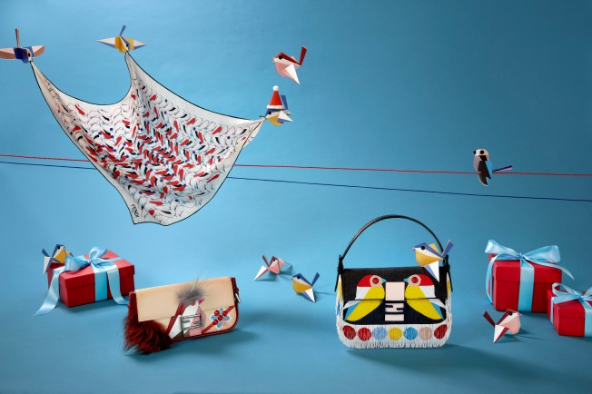 QUTWEET collection by FENDI