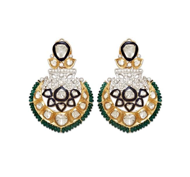 Earrings by Hema S. Kothari