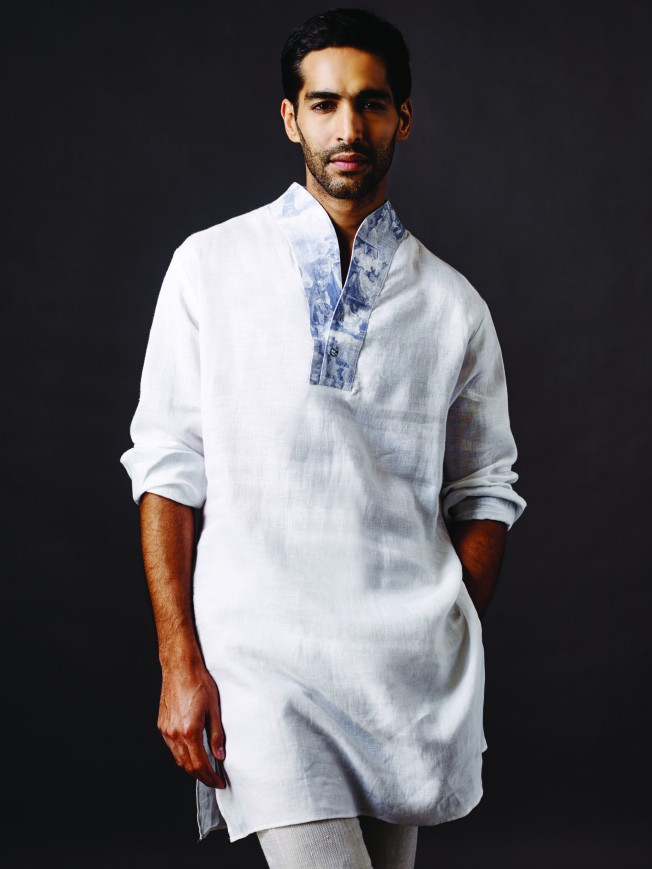 Anita Dongre Man - The Summer of Linen 2015