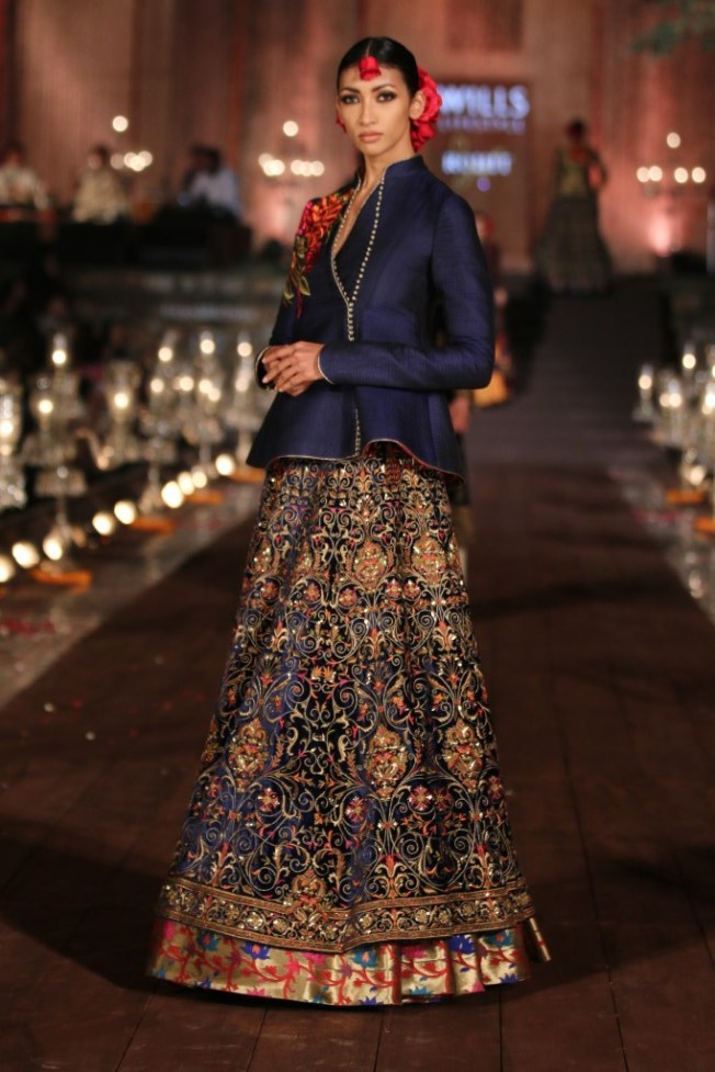 Rohit Bal's bridal collection for Wills India Fashion Week SS'15