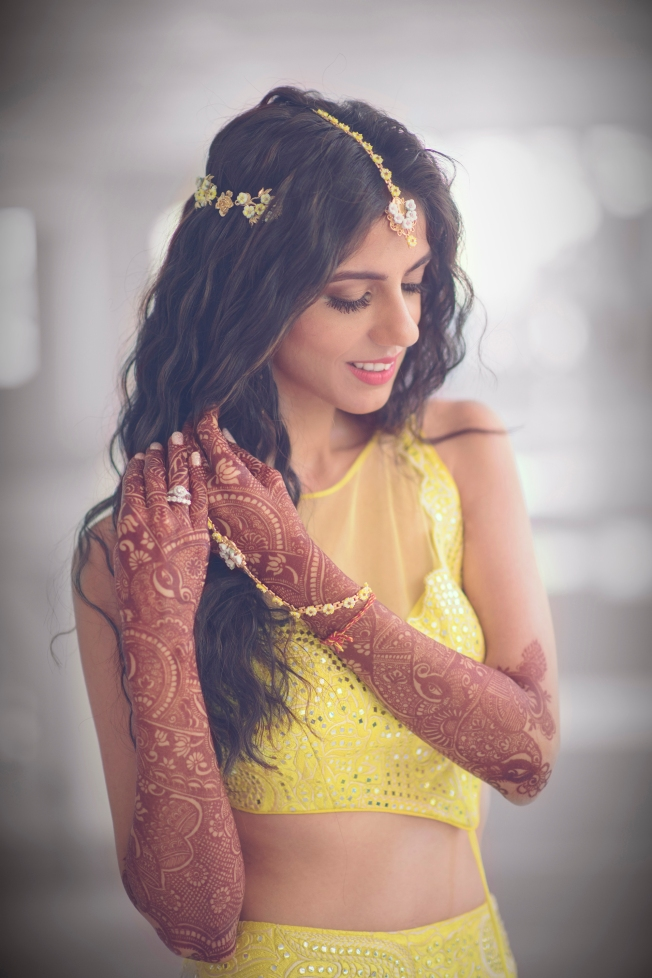 Nishka Lulla at her wedding