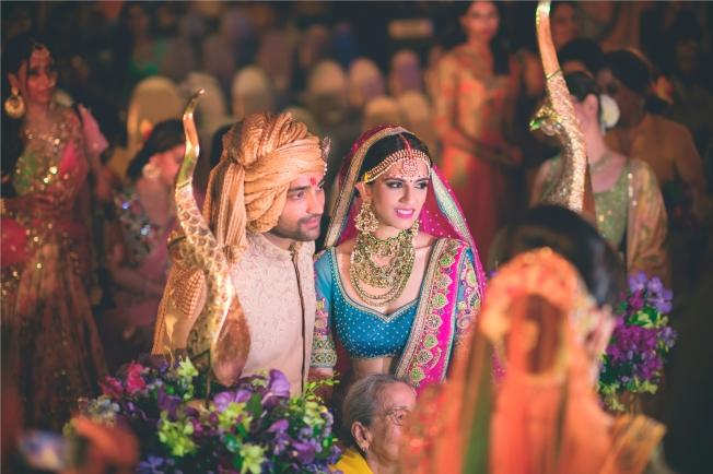 Nishka Lulla and Dhruv Mehra's wedding