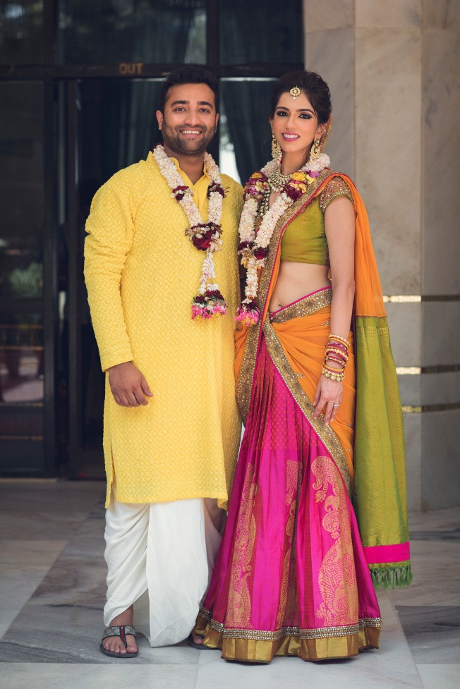 Nishka Lulla and Dhruv Mehra's wedding