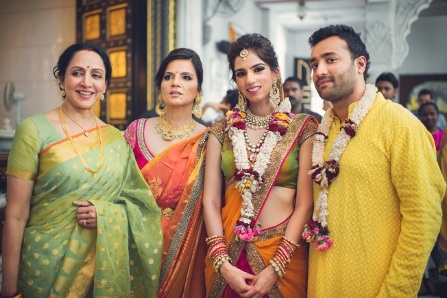 Hema Malini at Nishka Lulla and Dhruv Mehra's wedding